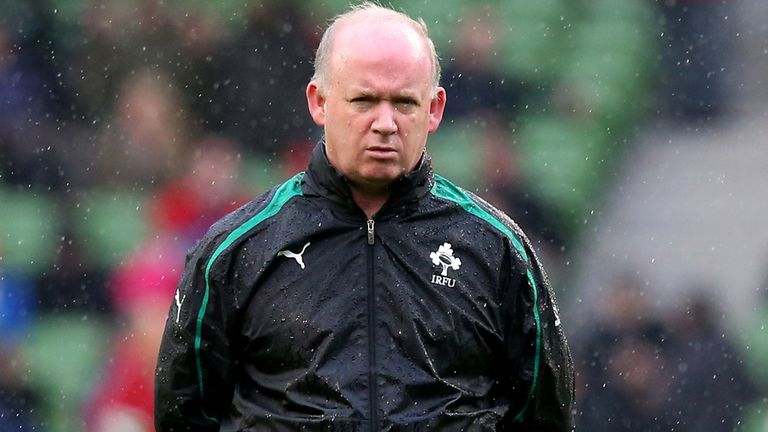 Declan Kidney: Led Ireland to Grand Slam glory in 2009.