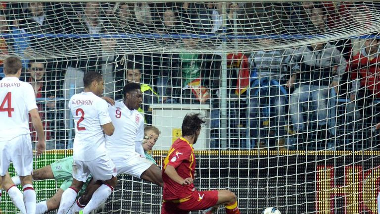 Dejan Damjanovic: Netted Montenegro's equaliser in a 1-1 draw with England