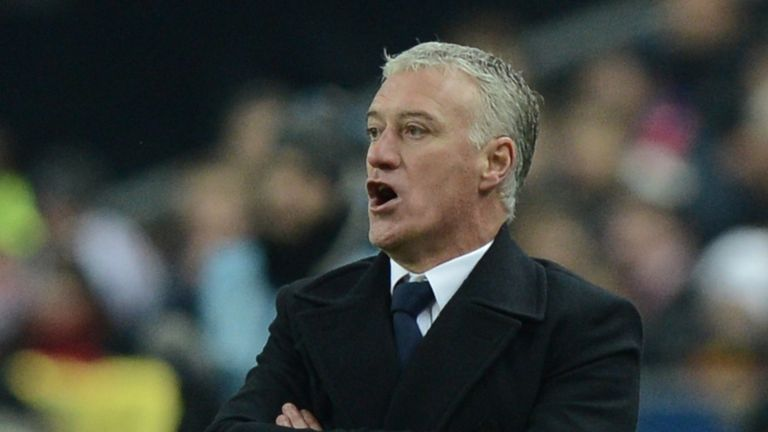 Didier Deschamps: Saw France lose 1-0 to Spain
