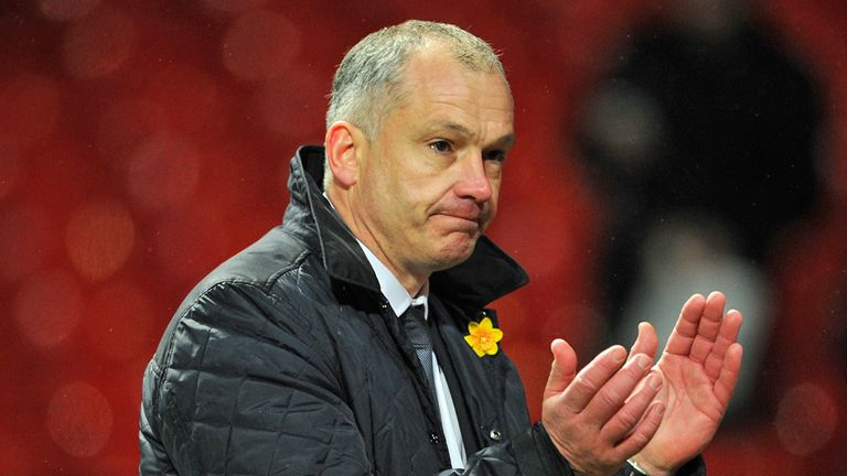 Eamonn Dolan: Waiting to see if he will remain in charge of Reading