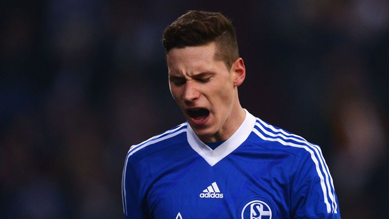 Julian Draxler: Urged to stay at Schalke by the club's chairman
