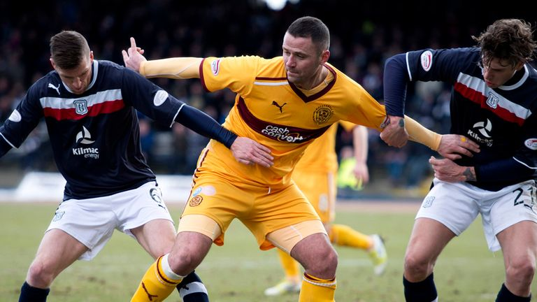 Michael Higdon: Keen to follow Stuart McCall's lead and secure extended Motherwell stay