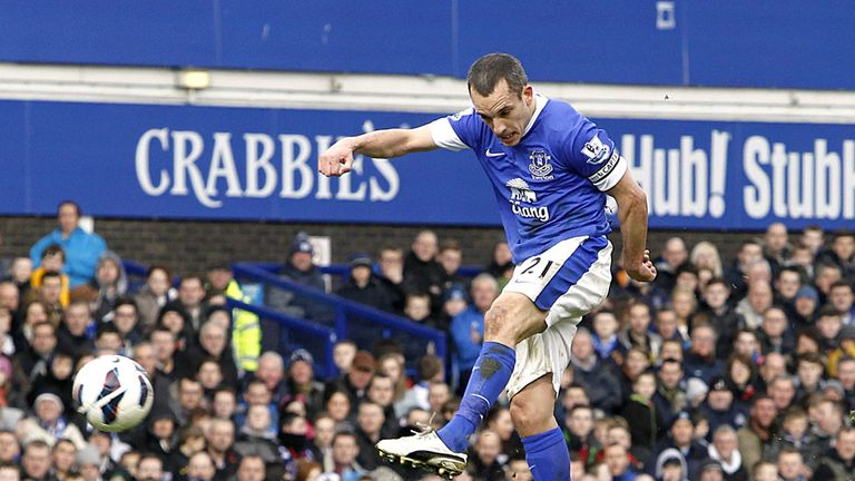 Leon Osman: Stunning goal put Everton ahead against Manchester City