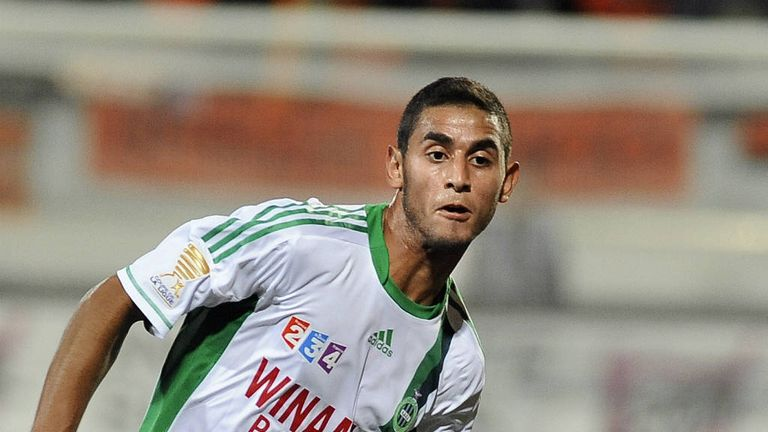 Faouzi Ghoulam: St Etienne defender linked with Premier League clubs