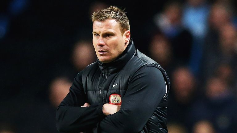 David Flitcroft: Vowed to pick his players up