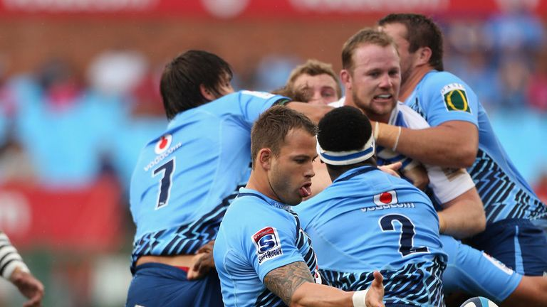 Francois Hougaard: suffered ankle injury against Blues