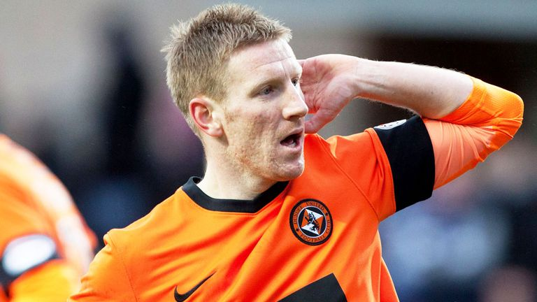 Michael Gardyne: Dundee United winger has joined Kilmarnock on loan