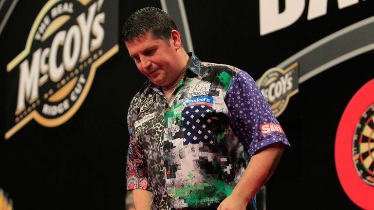 Gary Anderson: Beaten by James Wade in Brighton, meaning he exits the tournament