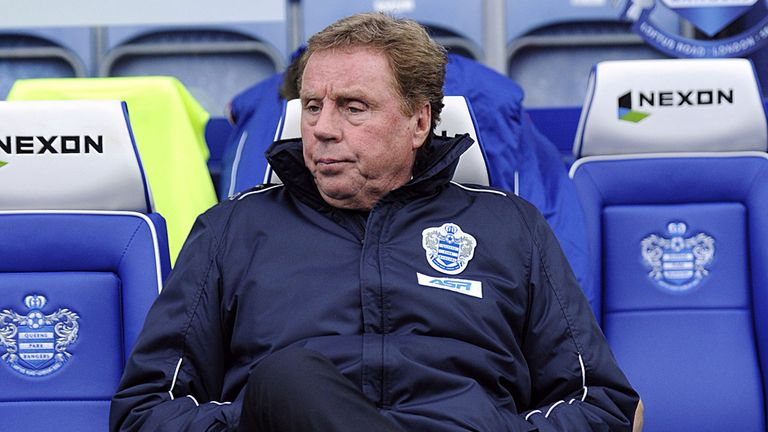 Harry Redknapp: Enjoying his time at Queens Park Rangers