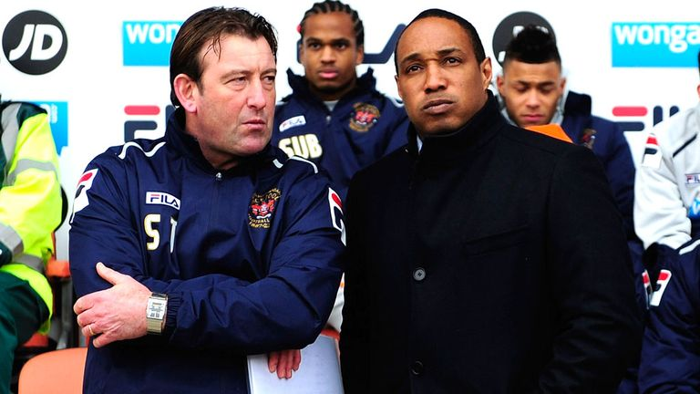 Steve Thompson: Pleased with his side in absence of Paul Ince
