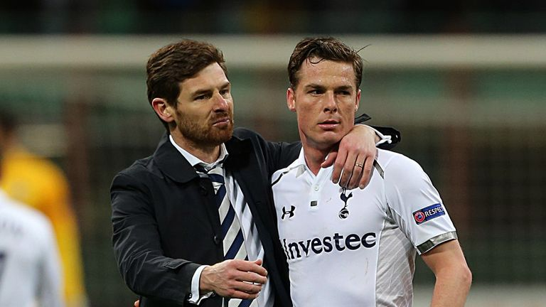 Scott Parker: Tottenham midfielder has set his sights on Europa League glory