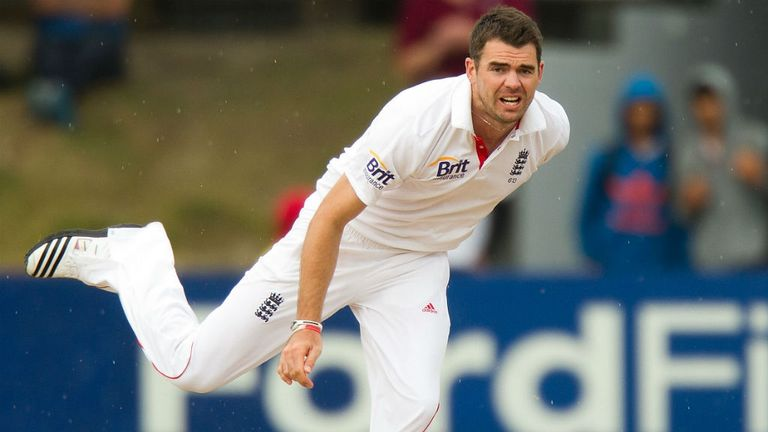 James Anderson became the fourth Englishman to take 300 Test wickets as New Zealand ended day two at Lord's on 152-4.