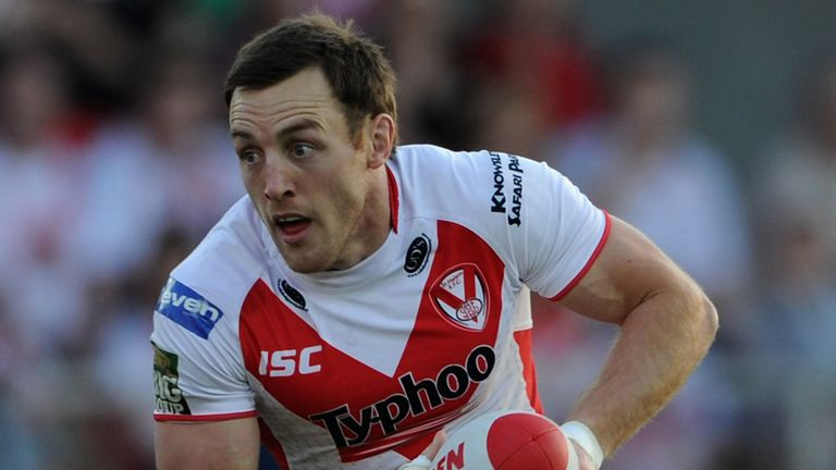 St Helens will be without James Roby for betwee a month and 10 weeks