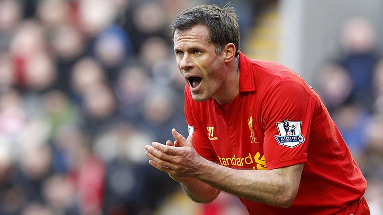 Jamie Carragher: Ends his long Liverpool career in two weeks time.