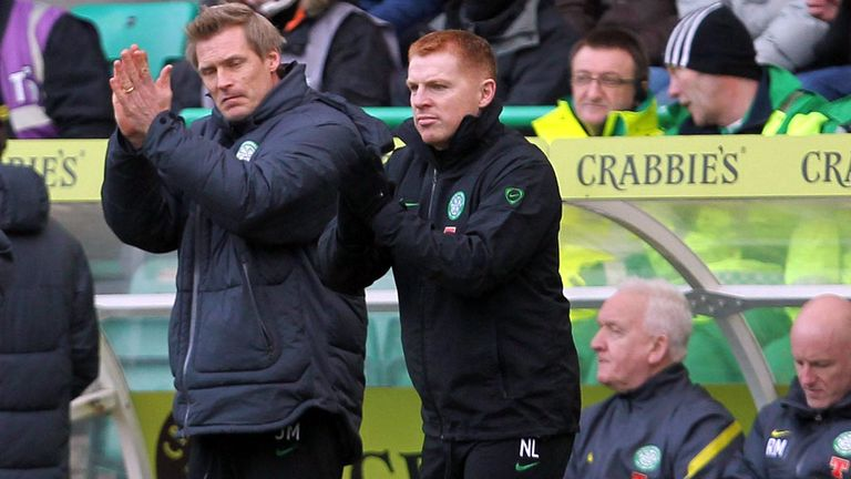 Johan Mjallby and Neil Lennon: The Swede called on officials to make tough calls in Turin