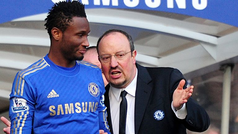John Obi Mikel: Wants Chelsea fans to get behind interim boss Rafa Benitez