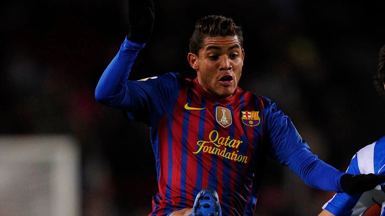 Jonathan Dos Santos: Barcelona midfielder would be keen to play in the Premier League