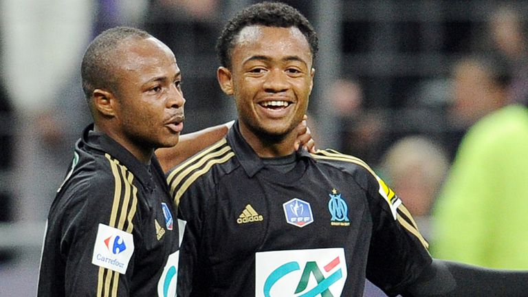 The Ayew brothers: Andre could leave, while Jordan looks set to stay