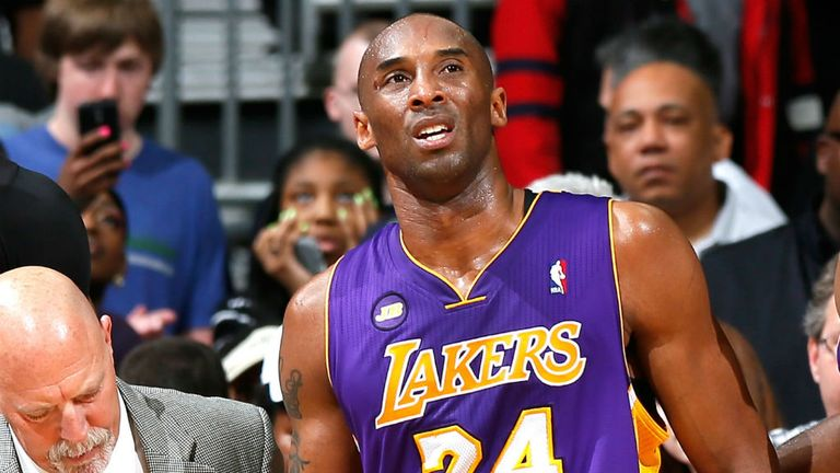 Kobe Bryant: No 4 in NBA all-time scorers