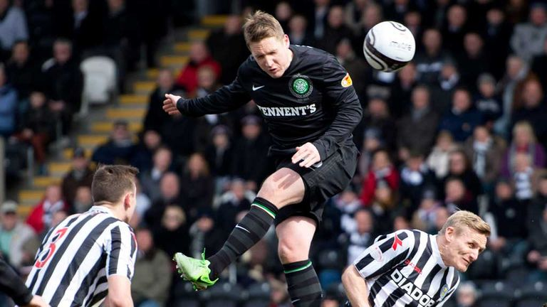 Kris Commons: Opens the scoring against St Mirren