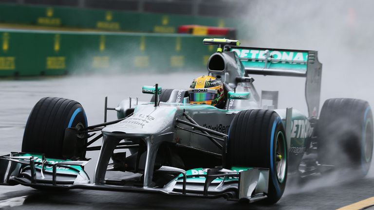 Lewis Hamilton: A wet qualifying session could work out in his favour