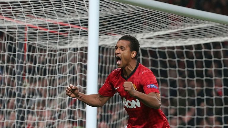 Nani: Hoping to make a big impact for Manchester United during the remainder of the season