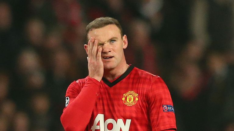 Wayne Rooney: Left out of the Manchester United starting XI on Tuesday