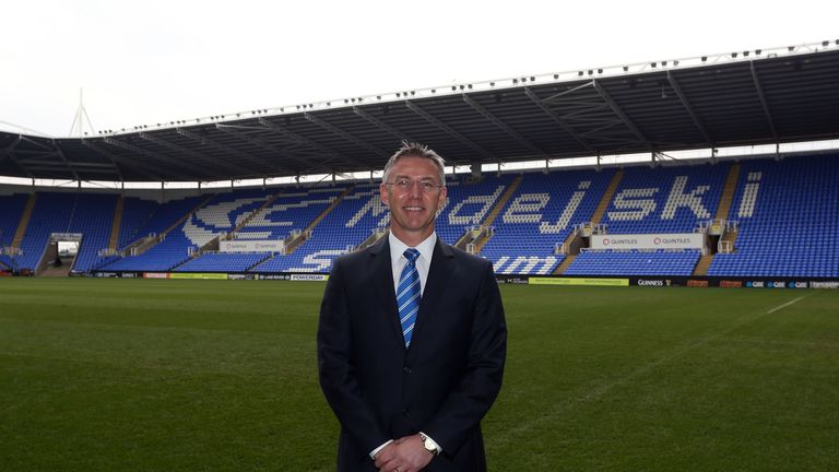 Nigel Adkins: Says Reading will be looking to win at Arsenal.