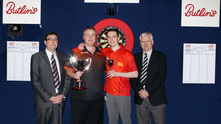 John Part: Defeated Stuart Kellett to collect the UK Masters' trophy