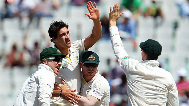 Mitchell Starc: Having ankle surgery but expects to be fit for the Ashes.