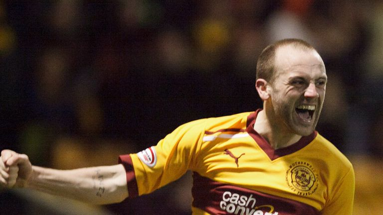 James McFadden: Could be set to join Celtic on a free transfer