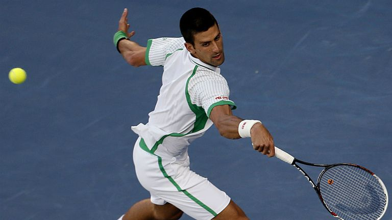 Novak Djokovic: Overcame second set wobble to see off Juan Martin Del Potro