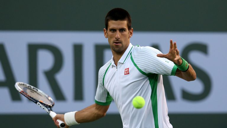 Novak Djokovic: Survives second set wobble