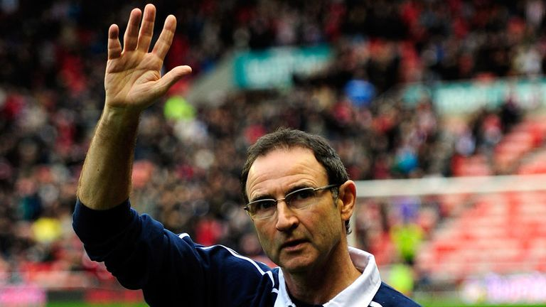 Martin O'Neill: Strong favourite to land Republic of Ireland post