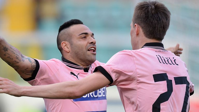 Fabrizio Miccoli  rubber-stamped the three points