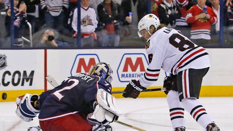 Patrick Kane had a goal and two assists in the Blackhawks' win