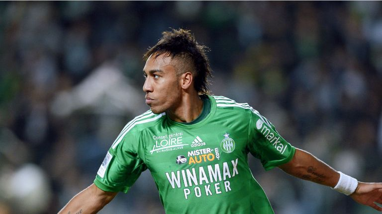 Pierre-Emerick Aubameyang: St Etienne striker linked with Anzhi Makhachkala