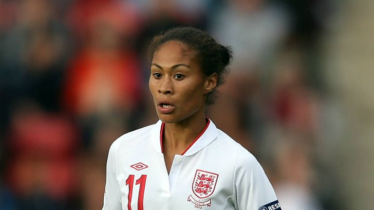 Rachel Yankey: Scored England's winner against Canada