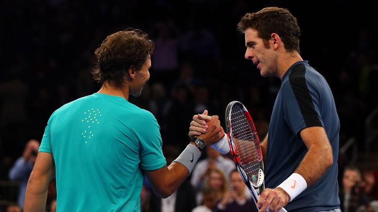 Rafael Nadal: The Spaniard was beaten by Juan Martin Del Potro