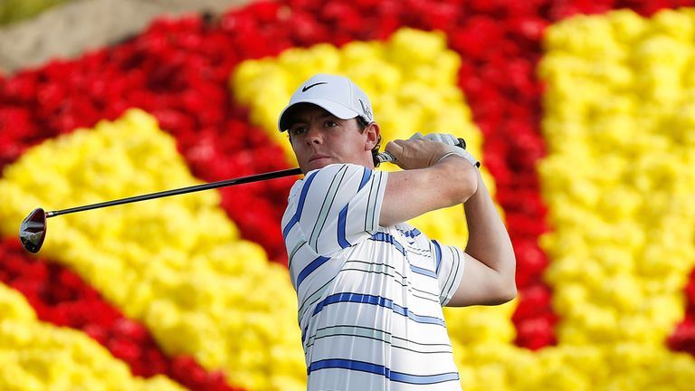 Rory McIlroy: Not the day he wanted in Houston