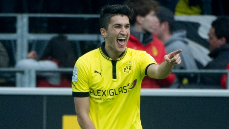 Nuri Sahin: Now back on loan at Borussia Dortmund