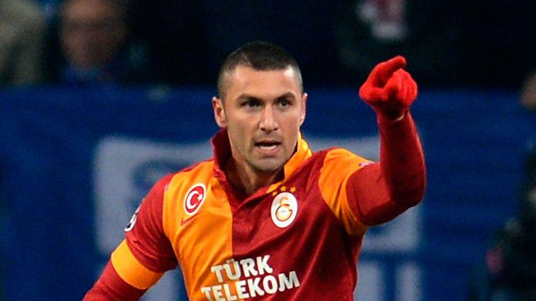 Burak Yilmaz: Is not a late summer target for Lazio