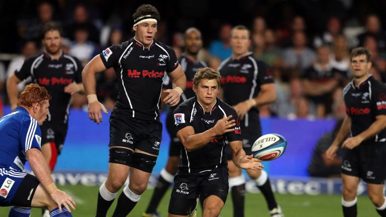 Patrick Lambie: Four penalties for the Sharks
