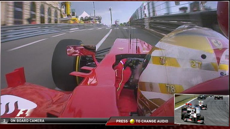 Go on board with drivers in the pitlane - and listen to their team radio
