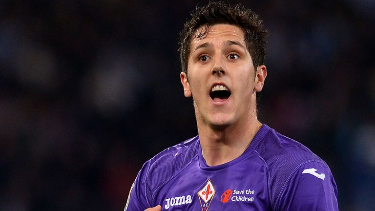 Stevan Jovetic: Set to join Manuel Pellegrini at Manchester City