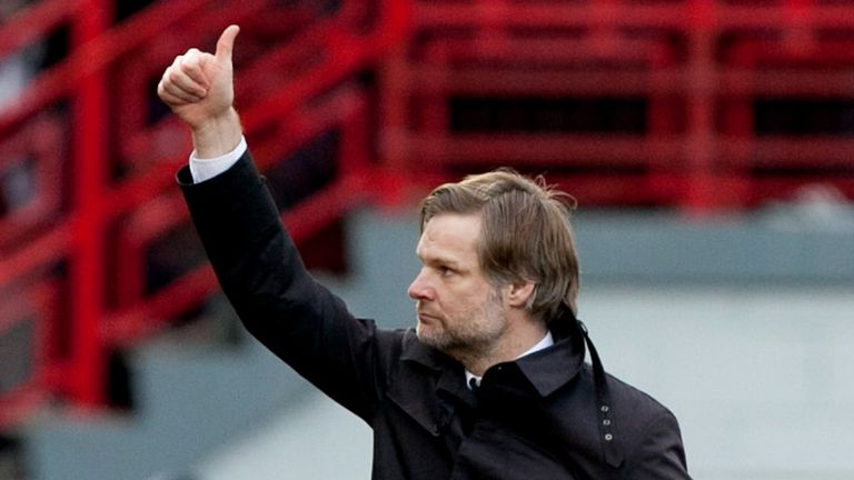 Steven Pressley: Hails Falkirk method