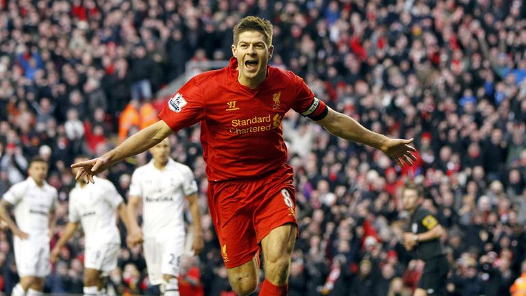 Gerrard: first and last Premier League winners were in 3-2 wins over Spurs