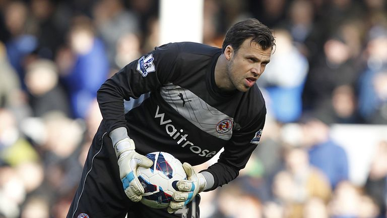 Stuart Taylor: Much-travelled keeper moved to Reading in 2012 after the end of his contract at Manchester City