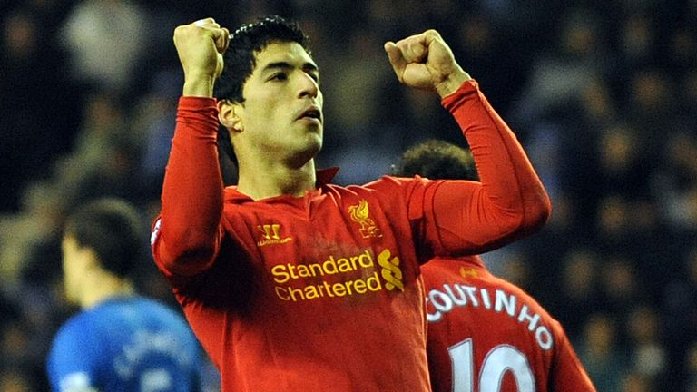 Suarez: in fine form this season, scoring 21 league goals
