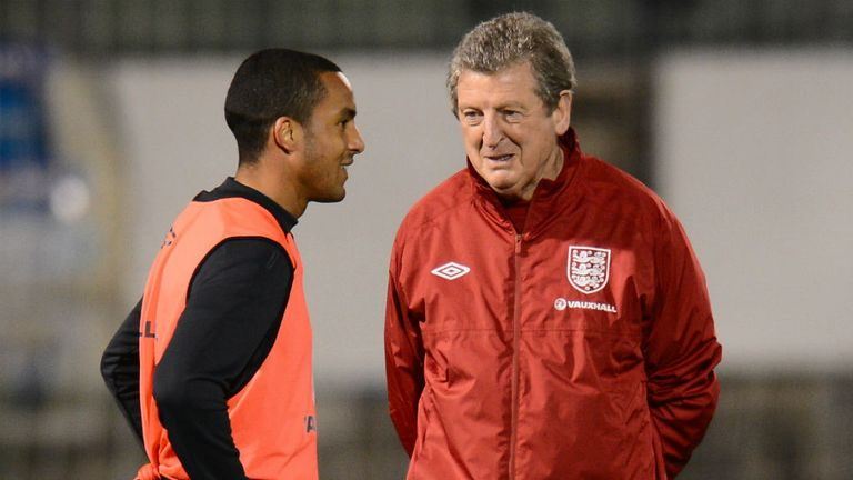 Roy Hodgson: Played down concerns over Theo Walcott's fitness